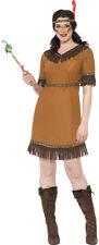 Native Squaw Indian Maiden Ladies Fancy Dress Costume 20458 12-14 Wild West