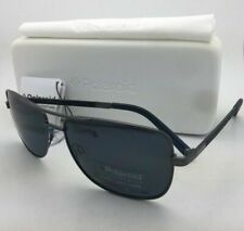 POLAROID Sunglasses PLD 2029/S KJ1 C3 58-15 Dark Ruthenium Aviator w/Grey Lenses