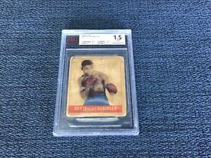 "1948 Leaf Boxing #64 'Sugar"" Ray Robinson BVG 1.5  FAIR Rookie Card RC"