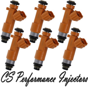 OEM Denso Fuel Injectors set (6) for 2014-2015 Infinity Q50 3.7L V6 14 15