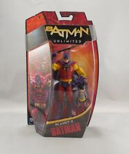 BATMAN UNLIMITED Planet - X BATMAN with Bat - Mite New in Box sealed some wear
