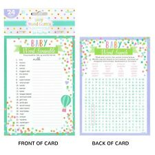 Amscan 380042 Baby Shower Word Game