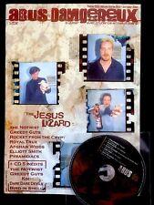 ABUS DANGEREUX fanzine rock - 59 (1998) - Jesus Lizard, Greedy Guts... TBE + CD