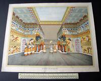 c1960 Palace of an Assyrian King. Stuart Boyle School Poster Print – Original
