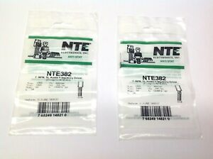 NTE NTE382 T-NPN Audio Frequency Driver Transistor LOT OF 2