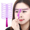 8 Pcs Women's Eyebrow Stencil Kit Eyebrow Grooming Stencil Shaping Template Card