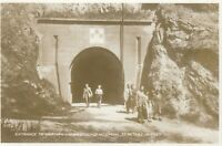 Postcard - St. Peter's, Jersey - Entrance to German Underground Hospital