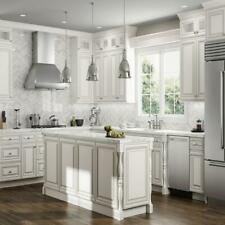 Lily ann Cabinets 10x10 Wood Kitchen Cabinets Furniture RTA - Charleston Linen