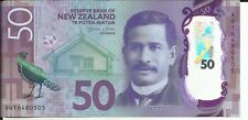 NEW ZEALAND 50 DOLLARS 2016. UNC CONDITION. 5RW 12GEN