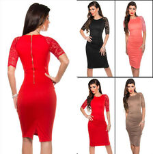 Festliche Kurzarm Damenkleider in Größe XS
