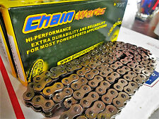 Motorcycle Chain 530 H 130 Links Non O-ring Polished Sport Bike Pin Press  A++