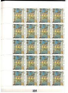 # SOMALIA - MNH - 10 SHEETS - 200 STAMPS - ARCHITECTURE - 1997 - WHOLESALE