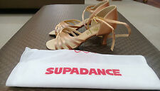 Supadance Flesh Satin Women's Ballroom Shoe UK size 2