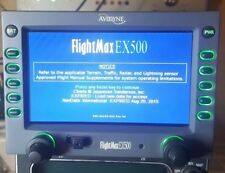 Avidyne EX-500 MFD MFDU 700-00007-706 Collins WXR-270 Radar Option Gray Bezel