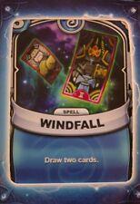 Skylanders Battlecast Collector's Card Spell Windfall
