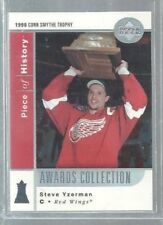 2002-03 UD Piece of History Awards Collection #AC12 Steve Yzerman (ref36917)