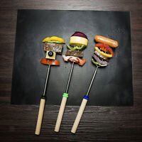 BBQ Mats Easy Reusable Barbecue Grill Mat Bake Nonstick Grilling Mats 5Pcs