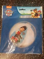 Paw Patrol Inflatable Blow Up Beach Ball BLUE