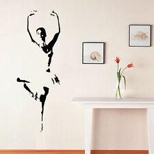 Wall Room Decor Art Vinyl Sticker Mural Decal Ballet Dance Women Ballerina FI392