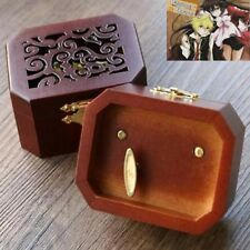 Collectible Octagon Carving Music Box ♫ Pandora Heart - Everytime You Kissed Me