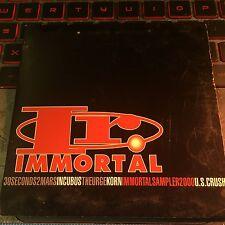 Immortal Sampler 2000 Promo CD Incubus Korn 30 Seconds Mars unreleased acoustic