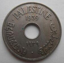 PALESTINE 10 MILS 1939