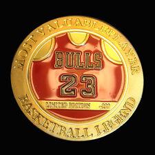 Michael Jordan Number 23 Basketball Legend Finished Most Valuable Player Coin