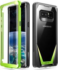 Scratch Resistant Back Protection Rugged Case For Samsung Galaxy Note 8 Green
