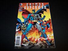 SIGNED DAN JURGENS BATMAN/SUPERMAN #13 75TH ANNIVERSARY VARIANT NEW 52 BLACK INK