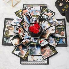 Novelty Bomb Explosion Box Memory Scrapbook Photo Album Anniversary DIY Gift Box