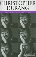 Christopher Durang Volume I: 27 Short Plays-ExLibrary