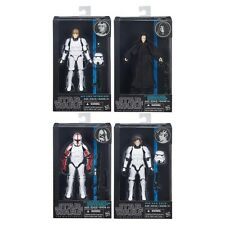 Star Wars Black series Emperor HAn Luke Stormtrooper Clone Palpatine Captain