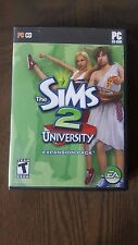 The Sims 2 University Expansion Pack by Electronic Arts PC CD Rom