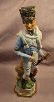 Vintage Ceramic Napoleonic Soldier Figurine 12 Inch In Great Condition #7