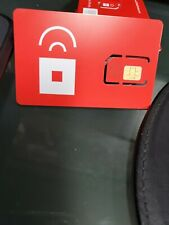 New ListingRed Pocket Mobile Sim Card standard  For activation At&T or Any Gsm Phone