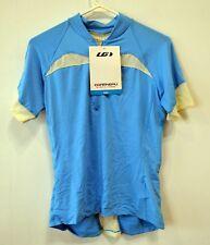 Louis Garneau Skin X women's cycling jersey MD light blue