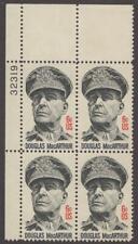 Scott # 1424 - Us Plate Block Of 4 - Douglas MacArthur - Mnh - 1971