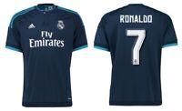 Trikot Adidas Real Madrid 2015-2016 Third - Ronaldo 7 [128 bis XXL] CR7 3rd