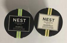 2PCs NEST Mini Candle 0.95oz/each Bamboo + Grapefruit Travel Size NEW