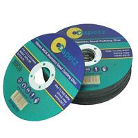 (PACK OF 10) 115mm x 1.2mm Thin Metal Cutting Discs For Angle Grinder INOX
