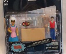 Palisades Adult Swim Action Figure Series 1 2 pack set BRAK SHOW Brak's MOM DAD