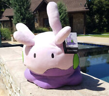 "Pokemon Center 16"" Goomy plush life size mochi mochi 1:1 squishy stuffed doll"