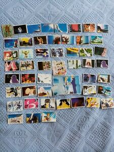 Lot de 55 vignettes stickers  les chevaliers du zodiaque 1986 Panini Sfc