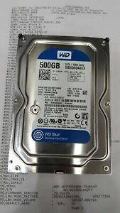 2x WD 5000AAKX   500GB 7200 RPM  Internal Hard Drive