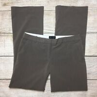 The Limited Drew Fit Dress Pants Size 8 Womens Taupe Brown Stretch