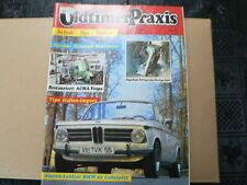 OLDTIMER PRAXIS 1993 NO 3 ACMA VESPA,BMW 02 CABRIO,ZUNDAPP JANUS,TRIUMPH HURRI