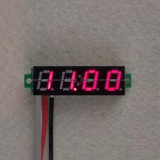 """0.28"""" 4.00-30V DC 4 Digital LED Voltmeter Panel Volt Meter 5v 9v 12V 24V car R-"""