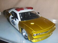 Toy Jada Dub 1:24 2008 Dodge Challenger SRT8 Sheriff Police Car