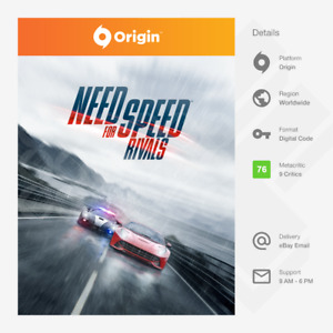 Need for Speed Rivals (PC) - Origin Key [GLOBAL, MULTI-LANG]