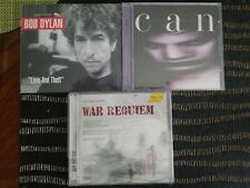 Hybrid SACD LOT Bob Dylan CAN War Requiem James Taylor BRAND NEW FACTORY SEALED